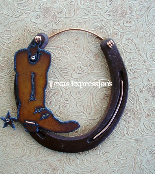 Cowboy Boot Horseshoe