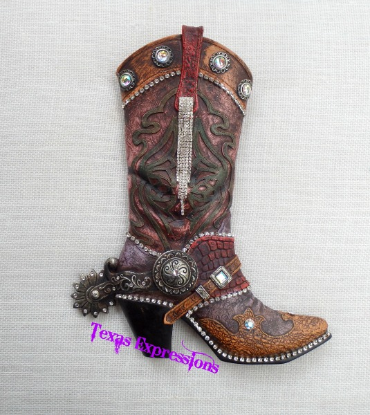 Blinged out Boot
