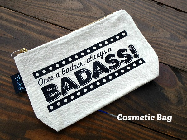 Cosmetic Bag Badass