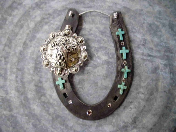 Crystals, Crosses and Turquoise Horseshoe