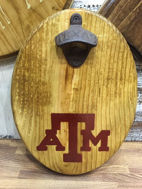 Texas A&M Magnetic Bottle Opener