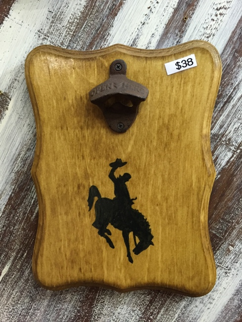 Bronc Rider Magnetic Bottle Opener