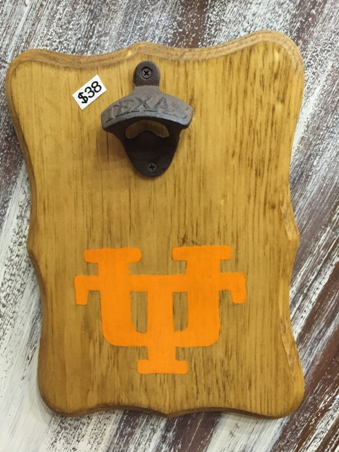University of Texas - Burnt Orange - Magnetic Bottle Opener