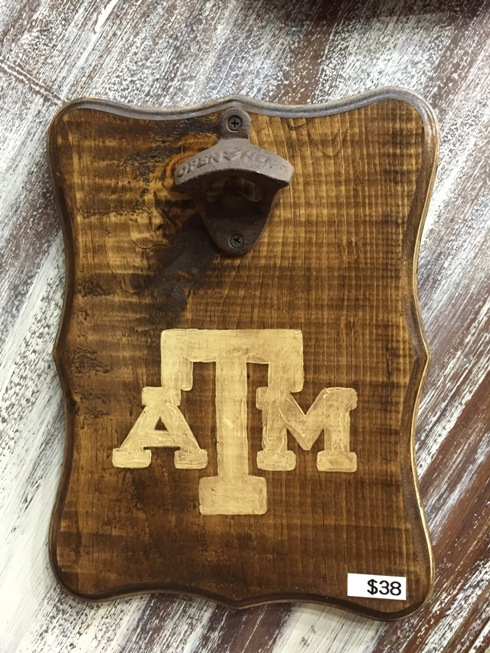 A&M Magnetic Bottle Opener