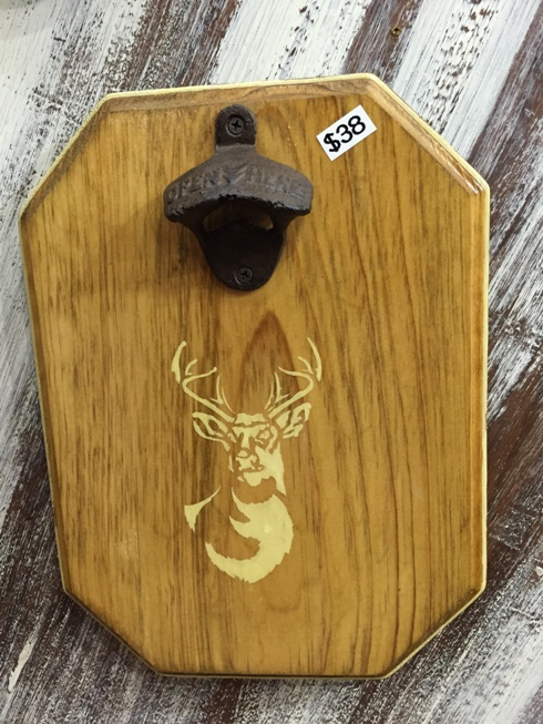 Deer Head Magnetic Bottle Opener
