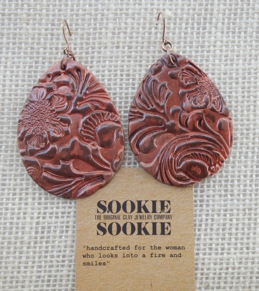 Sookie Sookie Llano Earrings  Copper