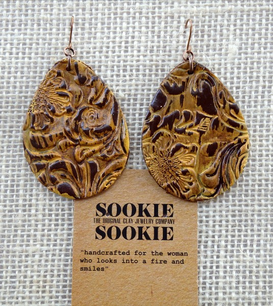 Sookie Sookie Llano Earrings  Mustard