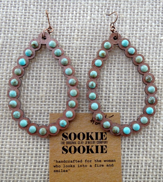 Sookie Sookie Ravena Earrings  Turquoise