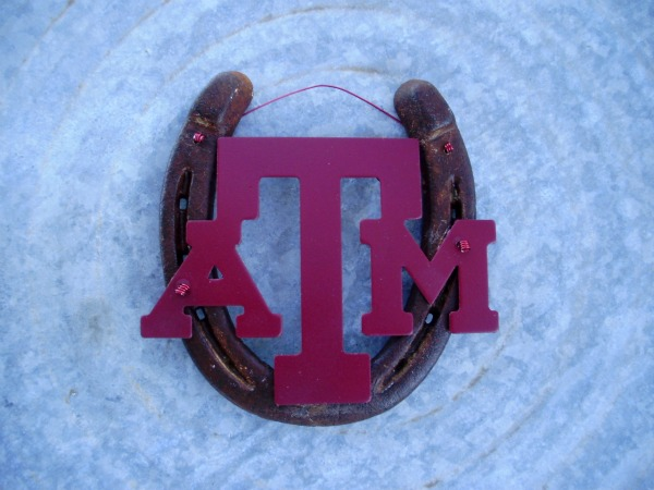 Texas A & M Horseshoe
