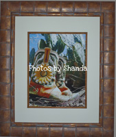Boots Framed photo