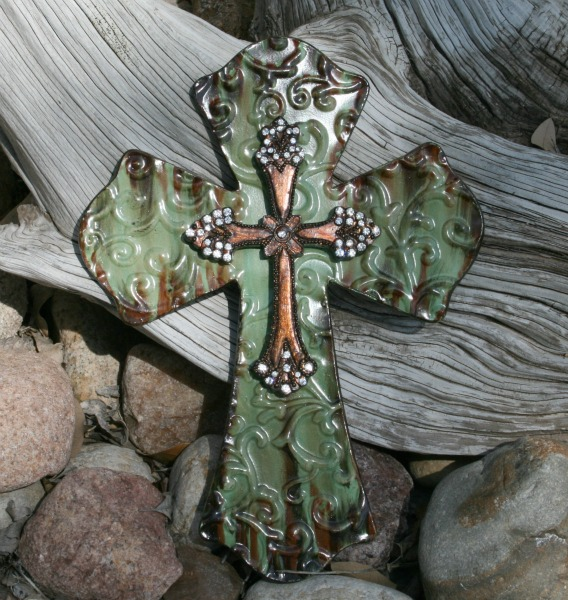 Home Decor Western Crosses Texas Expressions